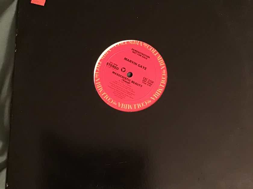 Marvin Gaye Masochistic Beauty Promo 12 Inch Single Columbia Records