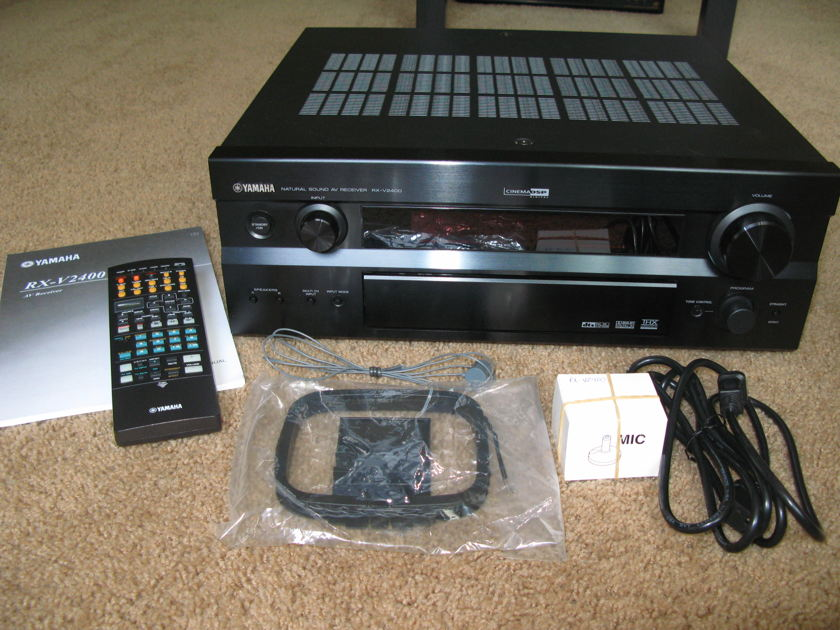Yamaha RX-V2400 7.1 Home Theater Receiver