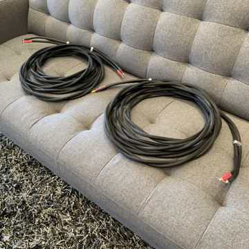 Chord - Signature Speaker Cables - 22' Foot Pair - Bana...