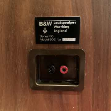 B&W (Bowers & Wilkins) Series 80 Model 802