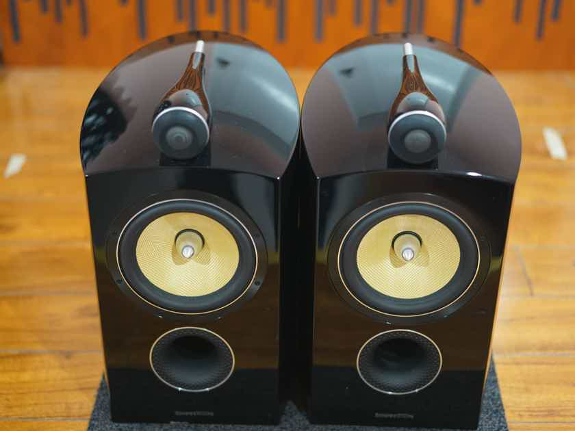 B&W Bowers & Wilkins Diamond D2 805D2 Piano Black Speakers & Factory FS-805 Stands with Boxes - near San Francisco...................