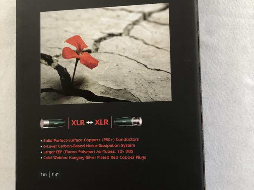 AudioQuest Earth xlr brand new 1m