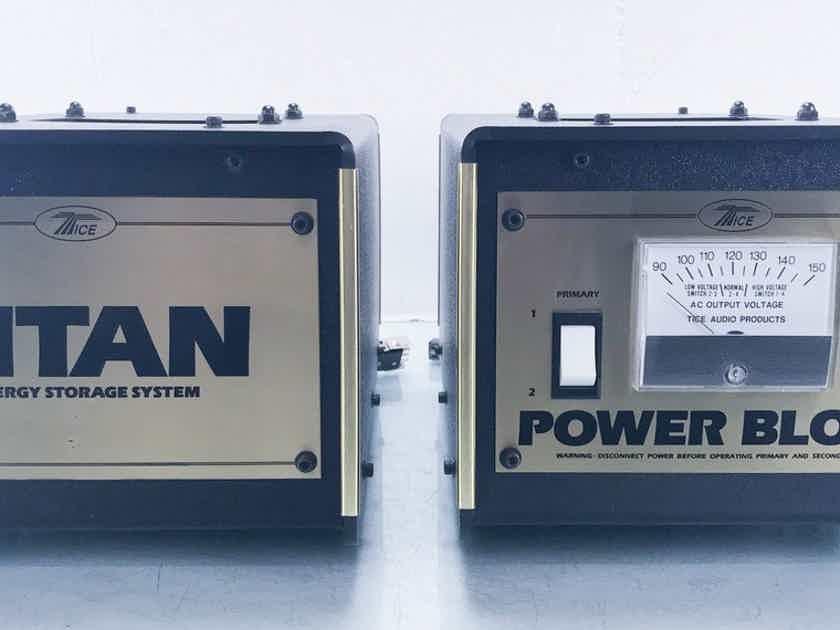 Tice Power Block Power Conditioner Titan Energy Storage System; Vintage (13353)