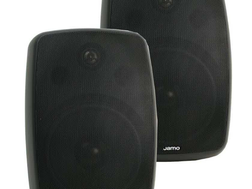 Jamo I/O 1A2 Outdoor Speakers; Black Pair (New/box damage) (26335)
