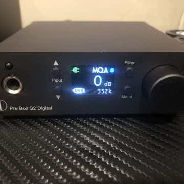 ProJect Audio Systems Pre-Box S2 Digital Hi-Res / MQA D...