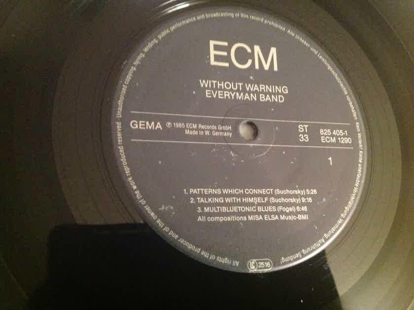 Everyman Band Without Warning ECM Records Germany