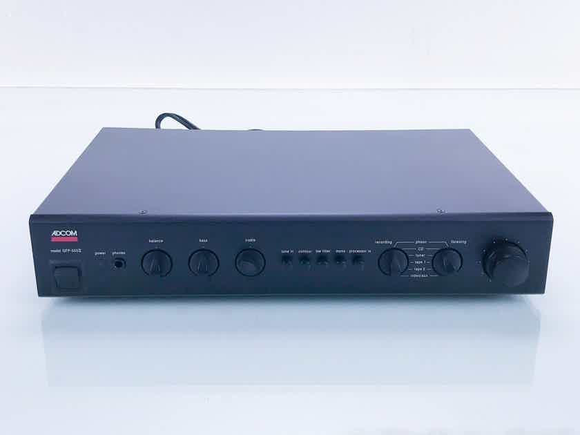 Adcom GFP-555II Stereo Preamplifier GFP555 MKII (16731)