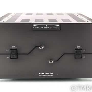 VK-500 Dual Mono Power Amplifier