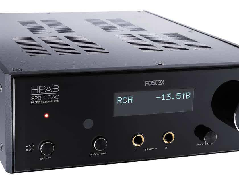 Fostex Hp A8c 32 Bit Dac Headphone Amp Mint Condition 1