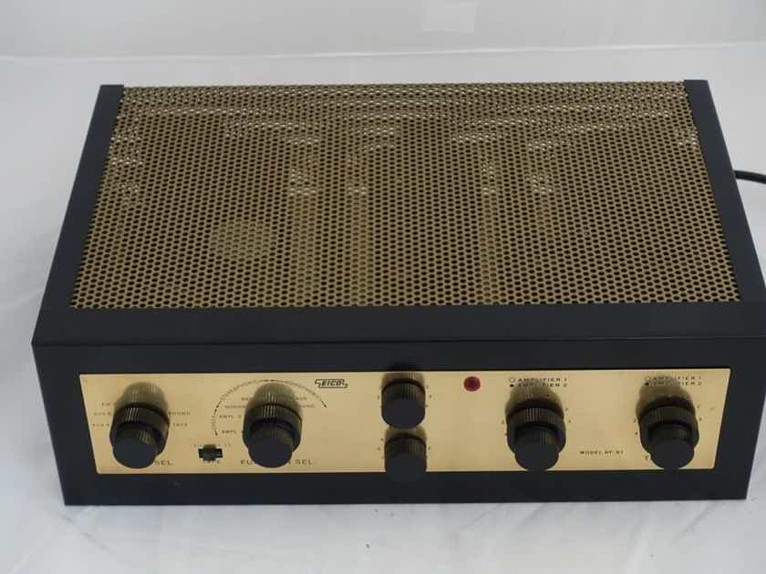 Eico HF-81 Completely Rebuilt Stereo Tube Amplifier