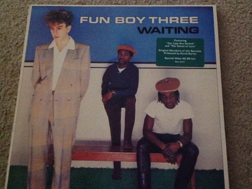 Fun Boy Three - Waiting Chrysalis Records Vinyl LP  NM