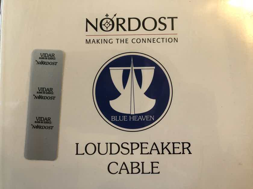 Nordost Blue Heaven LS Speaker Cables - Like New - Left and Right Speaker Cables - Spades - 9M / 29'