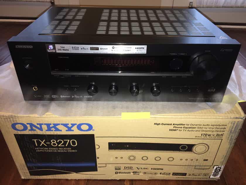 Onkyo TX-8270 NETWORK STEREO RECEIVER 100w Bluetooth Streamer