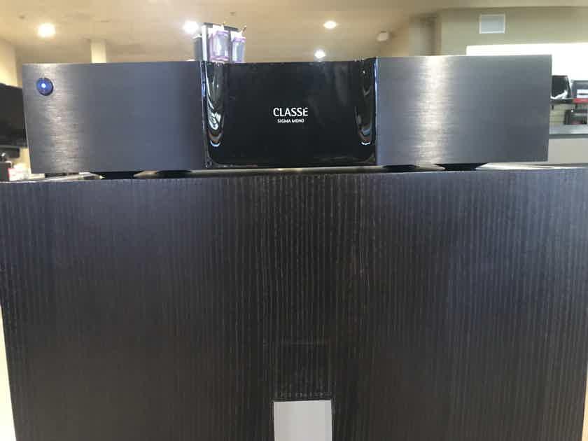 Classe Mono Sigma Series 350 Watt Mono Power Amplifier X2 –DEMO/Warranty