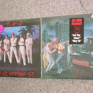 BAD Big Audio Dynamite 2 lp records in shrink