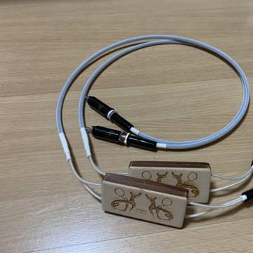 Viking Acoustics Gottenburg Master Silver RCA Interconnects 1.5m