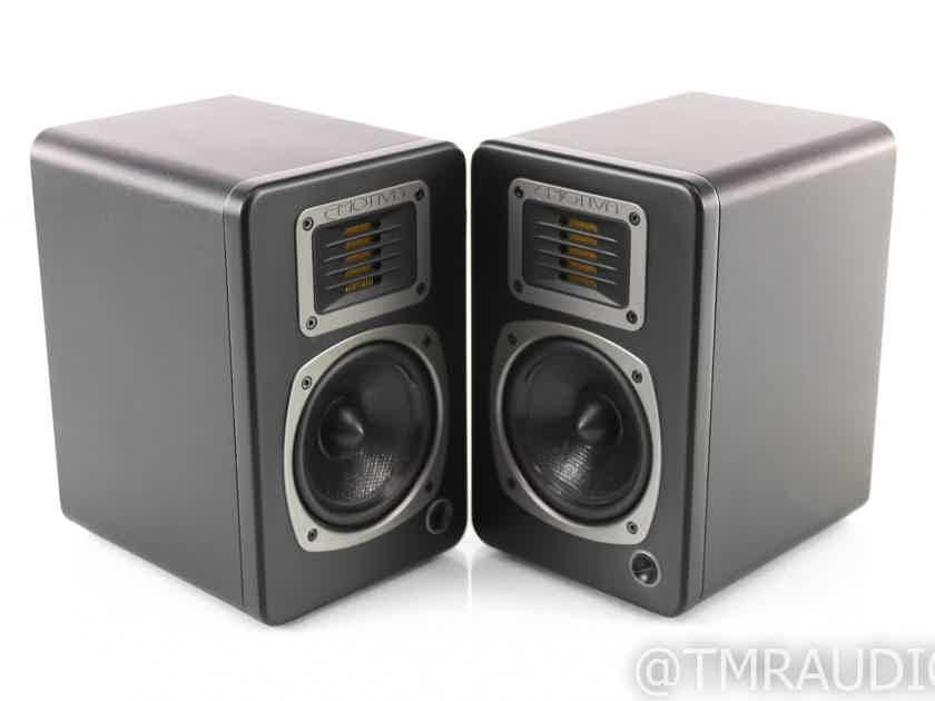Emotiva Airmotiv 4 Powered Bookshelf Speakers; Black Pair (28604)
