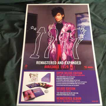 Prince  1999 Remastered And Expanded RSD Poster