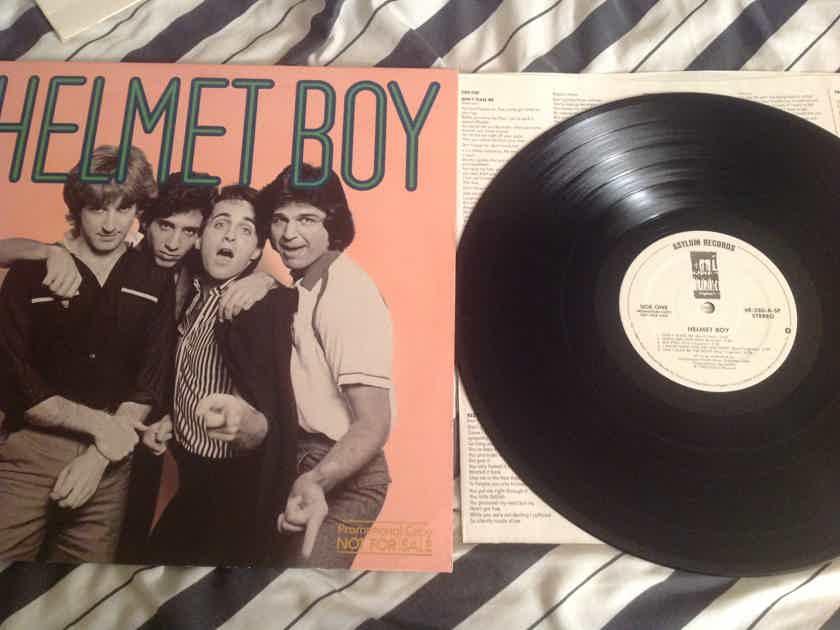 Helmet Boy Helmet Boy Asylum Records White Label Promo LP