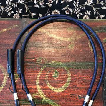 Wild Blue Yonder 1m pair RCA