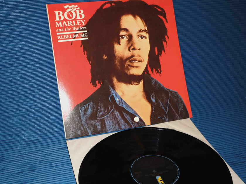 "BOB MARLEY & the Wailers - ""Rebel Music"" - Island Music 1986"