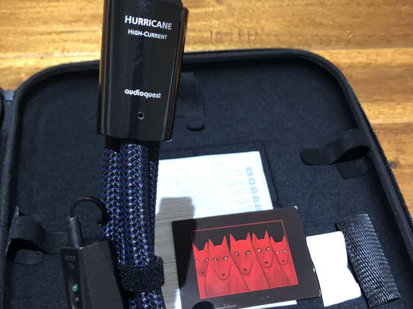 AudioQuest Hurricane 20A 1M High Current Newest Version BRAND NEW