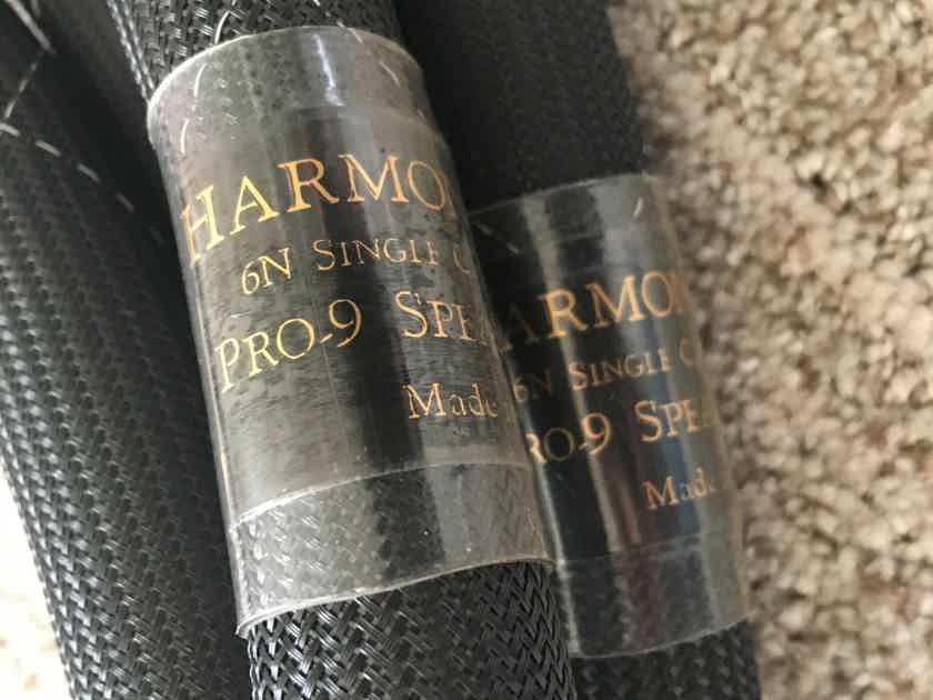 Harmonic Technology Pro-9 8' (2.5m) biwire speaker cables