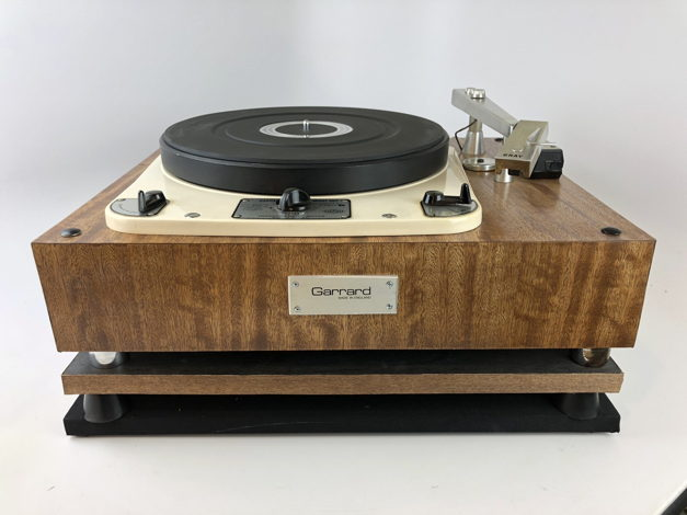 Garrard 301 Vintage Turntable with Gray Research 108 Tonearm, Gorgeous |  Turntables | Ridgewood, New Jersey 07450 | Audiogon