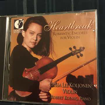 Elissa Lee Koljonen  Cd heartbreak romantic encores for...
