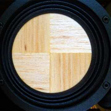 "Contrast Audio's 5.5"" woofer with wooden diaphragm"