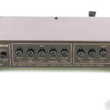 AudioControl Model 520 Vintage Stereo Parametric Equalizer