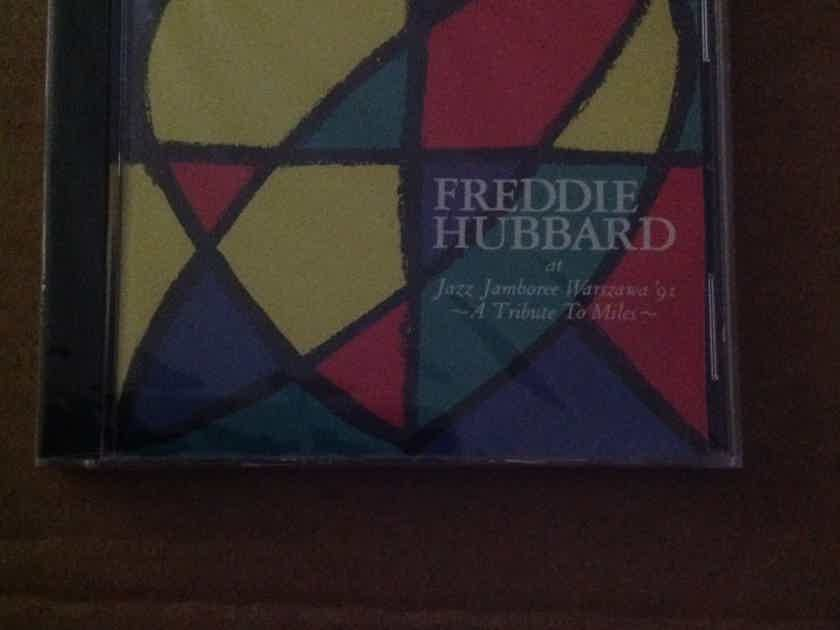Freddie Hubbard - At Jazz Jamboree '91 A Tribute To Miles Who's Who In Jazz Records Sealed Compact Disc