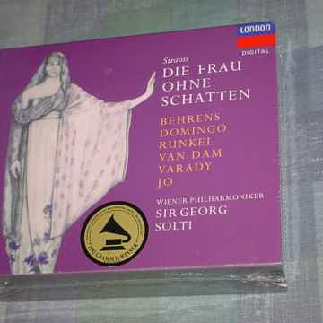 SEALED 3 CD SET Strauss Sir Georg Solti Die Frau Ohne S...