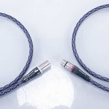 Absolute Zero Crystal Silver XLR Cables
