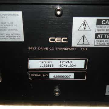 CEC TL-1 Original Belt Drive CD Transport