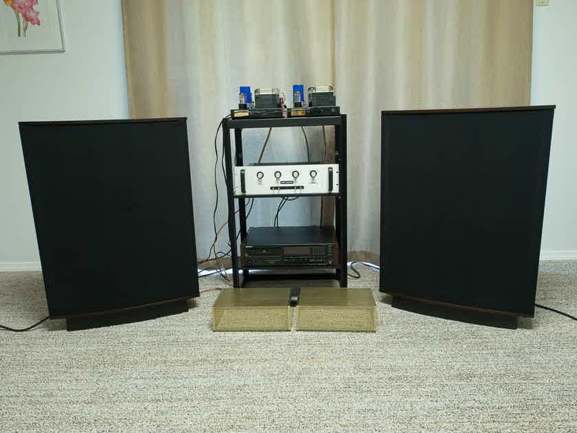 Golden Era System Quad 63 Quicksilver and Audio Research