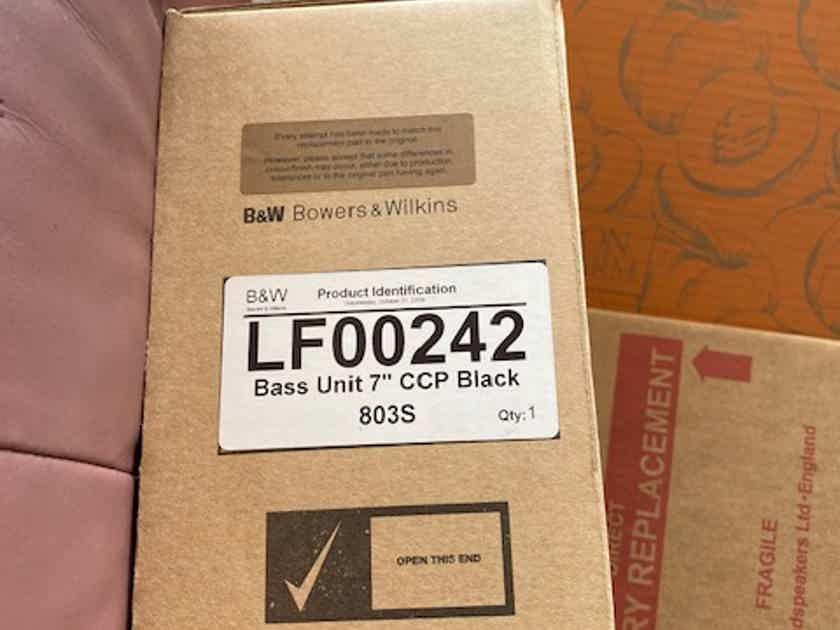 B&W (Bowers & Wilkins) 803S   bass driver
