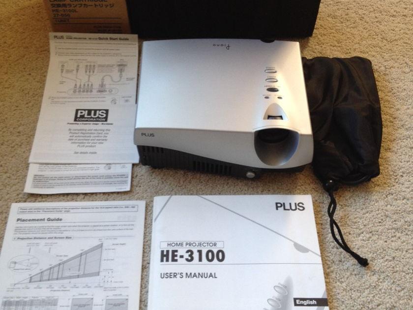 Plus HE-3100 Piano Including Spare Bulb