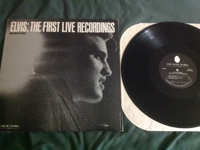 Elvis Presley The First Live Recordings