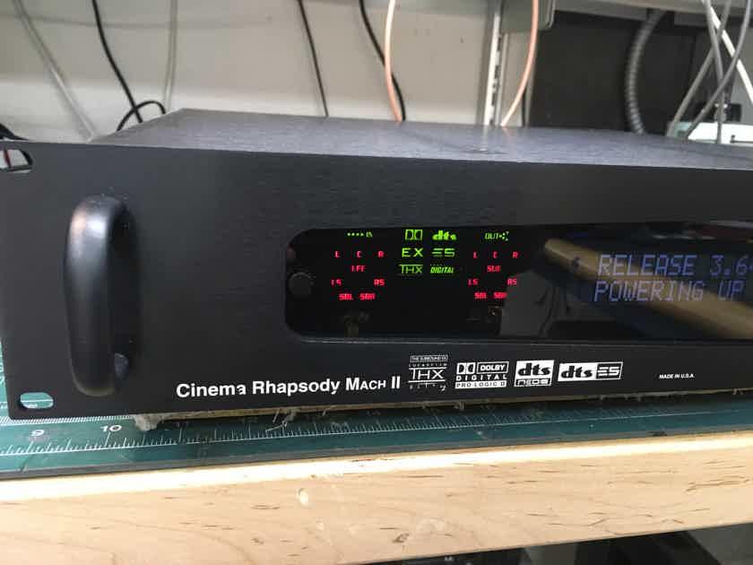 Audio Design Associates Cinema Rhapsody II Surround Processor 7.1 Made in USA