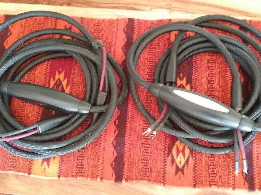 TRANSPARENT SUPER MM2 25 Ft Speaker Cables with Spades Best Acoustic Zen Satori