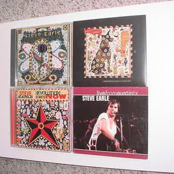 CD LOT OF 4 CD'S Steve Earle excellent country rock folk