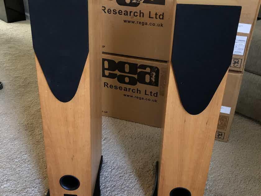 Rega R3 Floorstanding Speakers - Cherry Finish