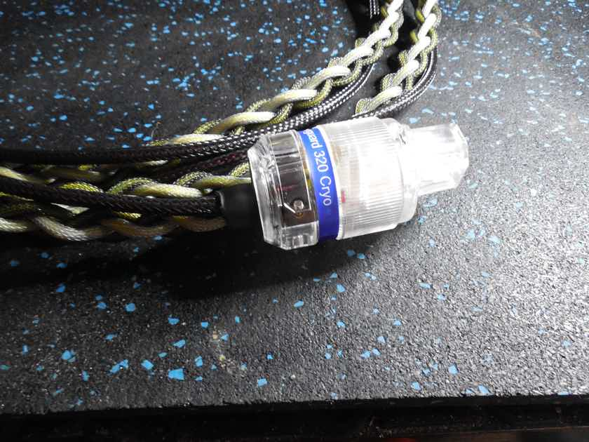 Stealth power cord 2 meter CRYO Silver