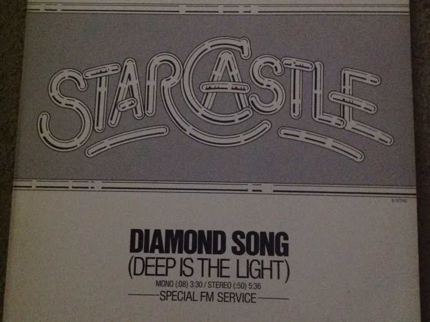 Starcastle - Diamond Song(Deep Is The Light) Epic Records  12 Inch Single Mono/Stereo Version Vinyl NM