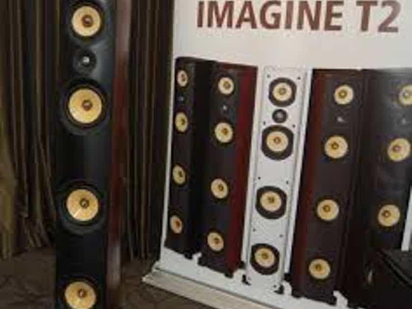 PSB Imagine T2 with NAD C388 DAC amp