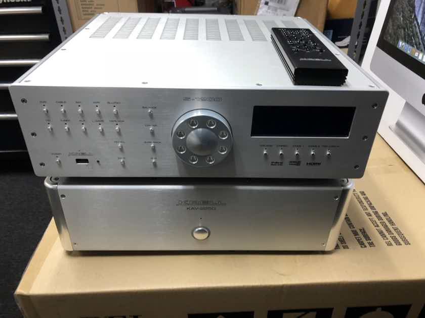Krell S-1200u 3D silver color