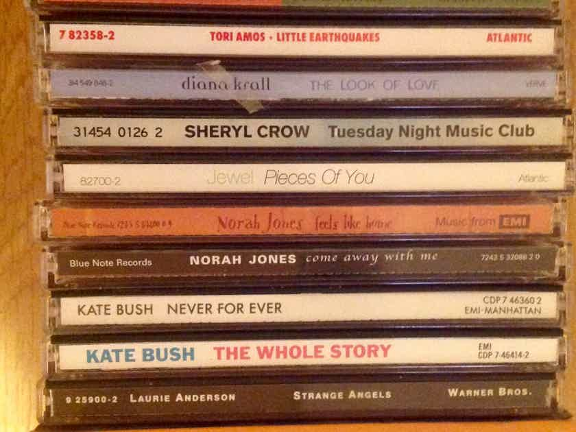 A 76 title CD collection