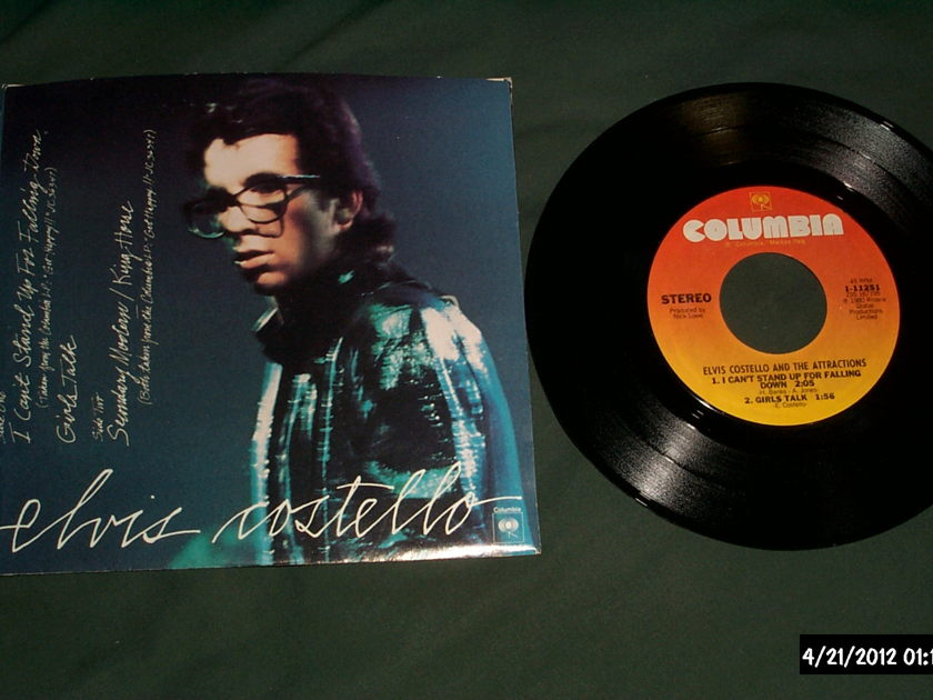 Elvis Costello - 4 Track EP I Can't Stand Up For Falling Down Vinyl NM