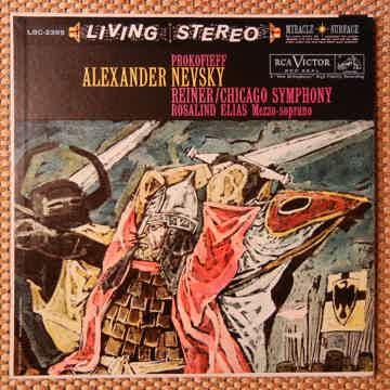 Prokofieff - Alexander Nevsky RCA LSC-2395 Shaded Dog